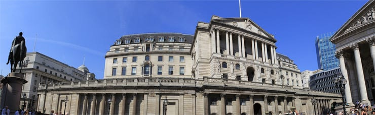 bank of england interest rates business
