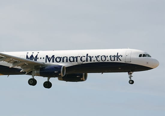 monarch airlines admin