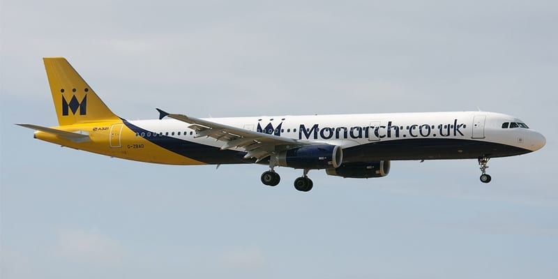 monarch airlines administration