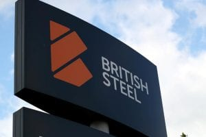 British Steel sign